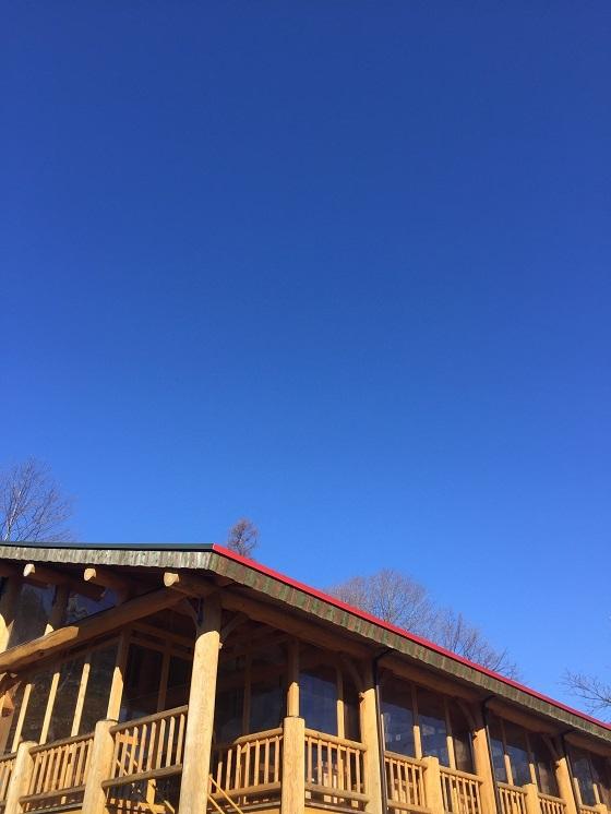 雲がどこにもありません!!